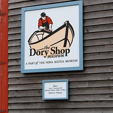 Dory Shop Sign